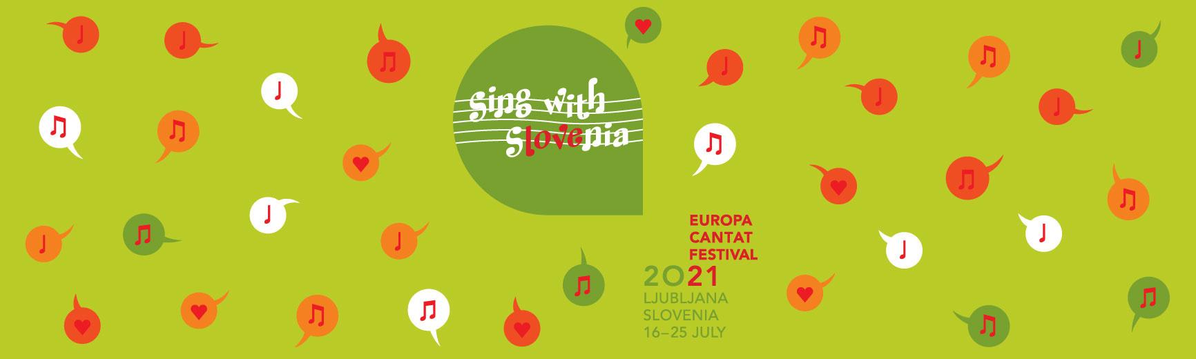 Europa Cantat – Ljubljana, Slovenia 16-25 July 2021