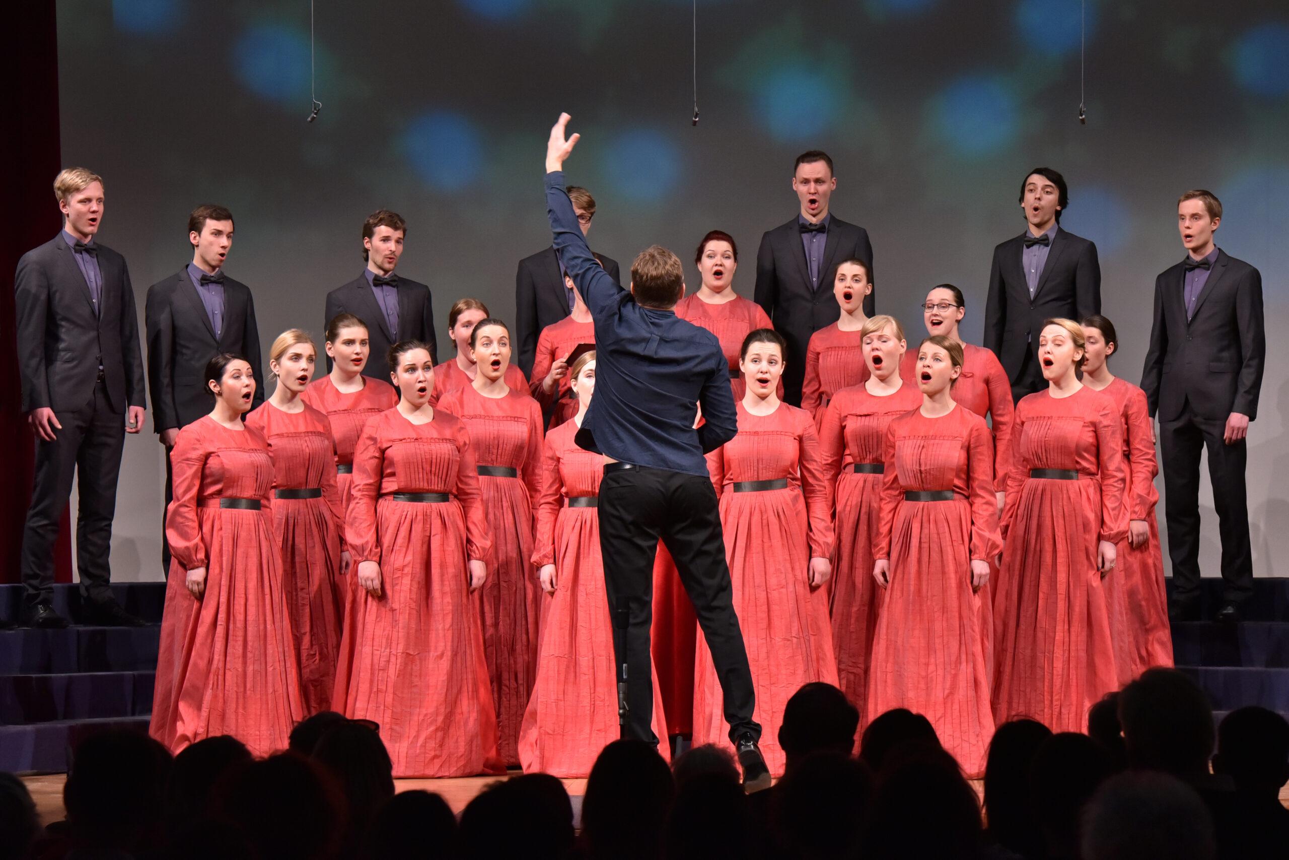 Janez Eržen, Slovenija: Malo višje, prosim, 2017, Youth Choir Balsis, Latvija - 14. mednarodno zborovsko tekmovanje Gallus Maribor 2017. Tekmovanje je od leta 2008 vključeno v Zvezo tekmovanj za veliko zborovsko nagrado Evrope.