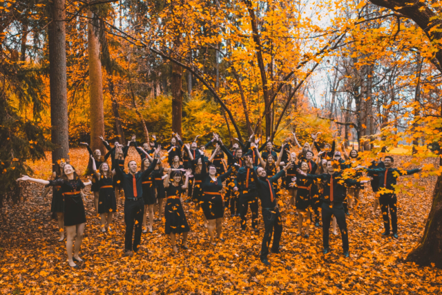 Žan Križnar, Slovenia: 50 Shades of Orange, 2018, Crescendo Mixed Choir, Slovenia - According to the members of the choir, this is one of their favourite pictures and it was actually taken in Tivoli Park, only a stone's throw away from where you are standing right now.