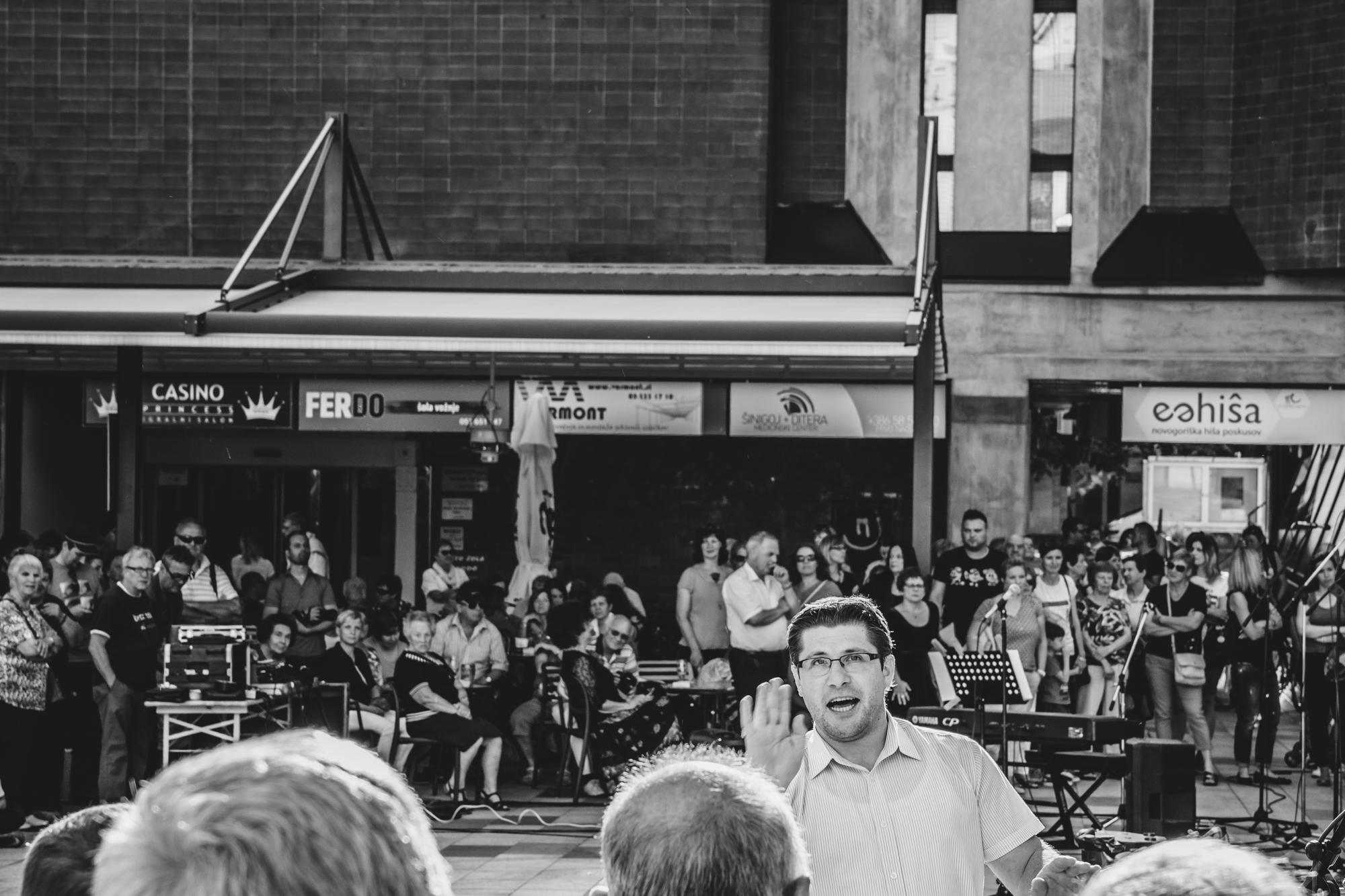 Mateja Pelikan, Slovenija/Slovenia: Zapojmo našemu mestu II, 2017, Združeni zbori Goriške, Slovenija / Sing to our City II, 2017, United choirs of the Goriška region, Slovenia