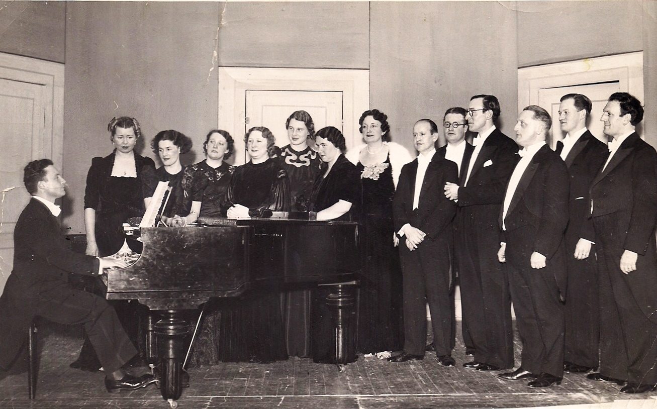 Netherlands Chamber Choir in 1939