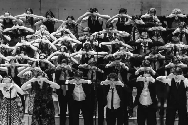 Jana Jocif, Slovenija/Slovenia: Letni koncert v Gallusovi dvorani Cankarjevega doma,  2018, Zbori svetega Stanislava, Slovenija / Annual concert in the Gallus hall of Cankarjev dom, 2018, choirs of the st. Stanislav institute, Slovenia