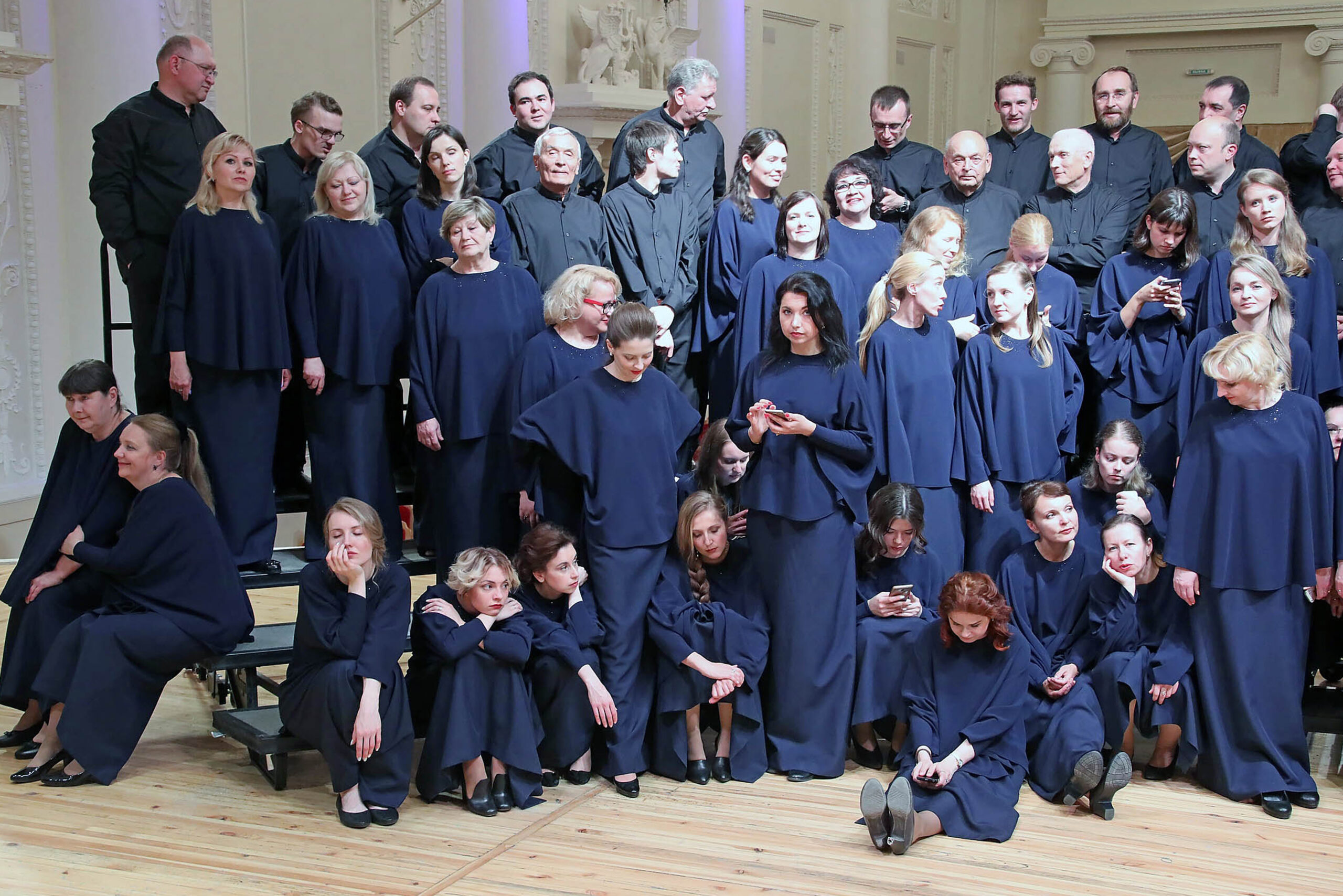 Tatiana Andreyeva, Rusija/Russia: Tough Photo Shoot, 2019, Yekaterinburg Amateur Choir, Russia