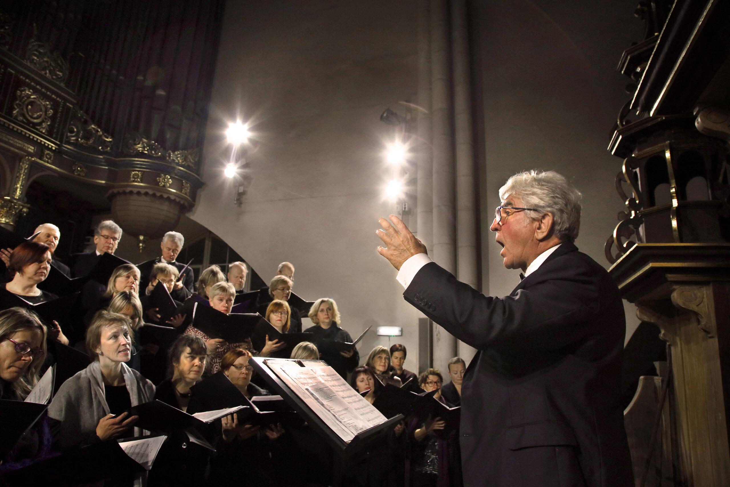 "Eizenija Freimane, Latvija/Latvia: Concert at Riga Cathedral, 2018, The University of Latvia Alumni Choir ""Jubilate"", Latvija"