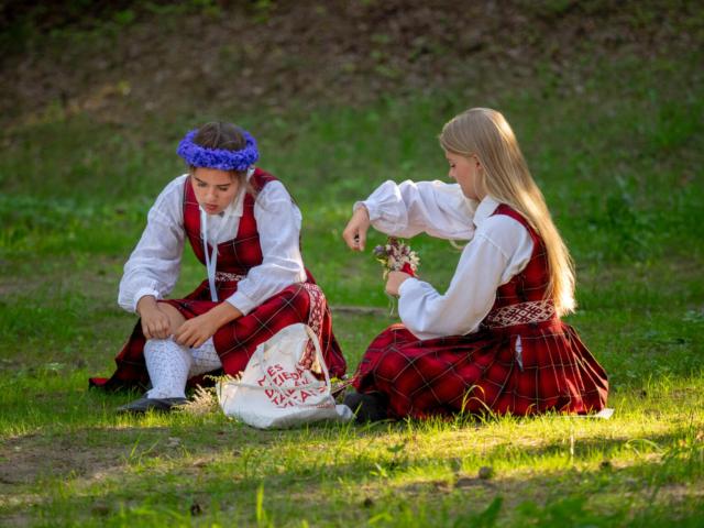 Valdis Ošiņš, Latvija/Latvia: Before the Concert, 2018, Latvian Nationwide Song Celebration in Riga