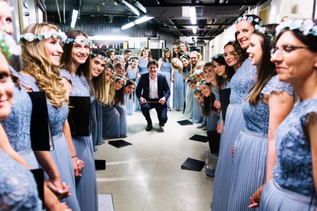 Marko Alpner, Slovenija/Slovenia: Pred koncertom, 2018, Carmen manet, Slovenija/ Before the concert, 2018, Carmen manet, Slovenia