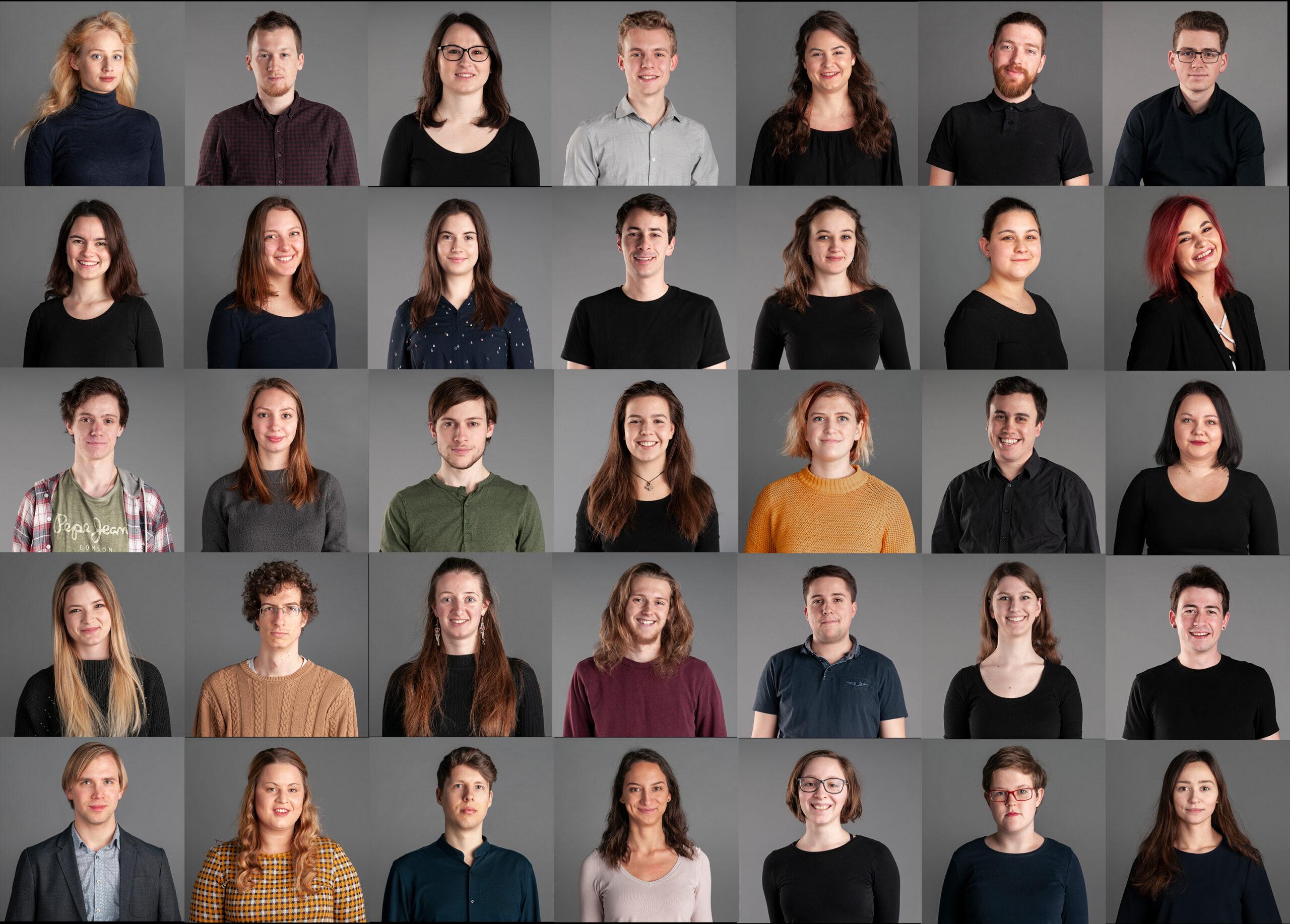 Kaja Škorjanc, Slovenija/Slovenia:  Zasedba v sezoni 2018/19, 2019, APZ Tone Tomšič, Slovenija / Members of the choir in 2018/2019, 2019, Academic Choir Tone Tomšič of the University of Ljubljana, Slovenia