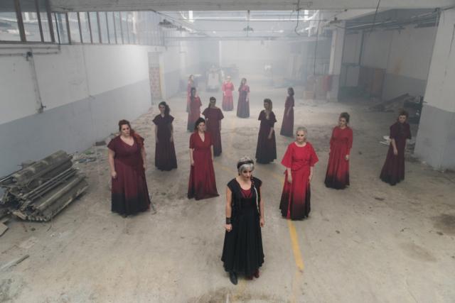 Mankica Kranjec, Slovenija/Slovenia: Trojanke, 2017, Zbor SNG Nova Gorica, Slovenija / Women of Troy, 2017, Choir of the National theatre Nova Gorica, Slovenia