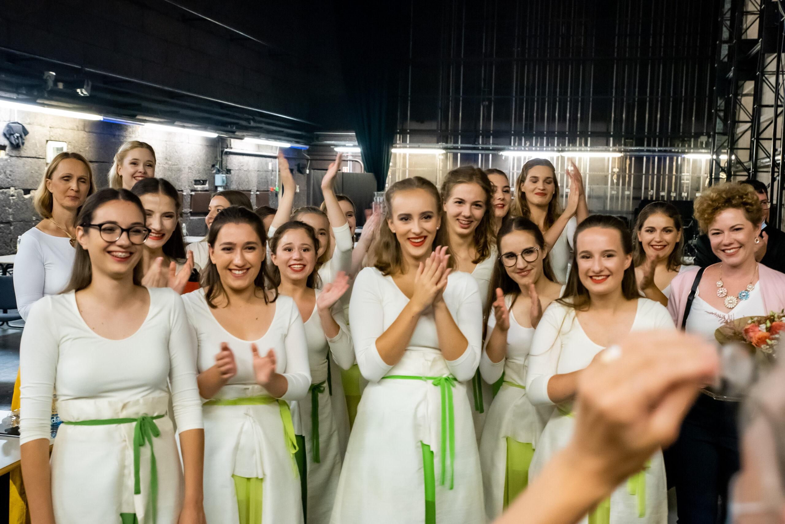 EC Ljubljana 2021, Dekliški zbor sv. Stanislava; Photo: Janez Eržen