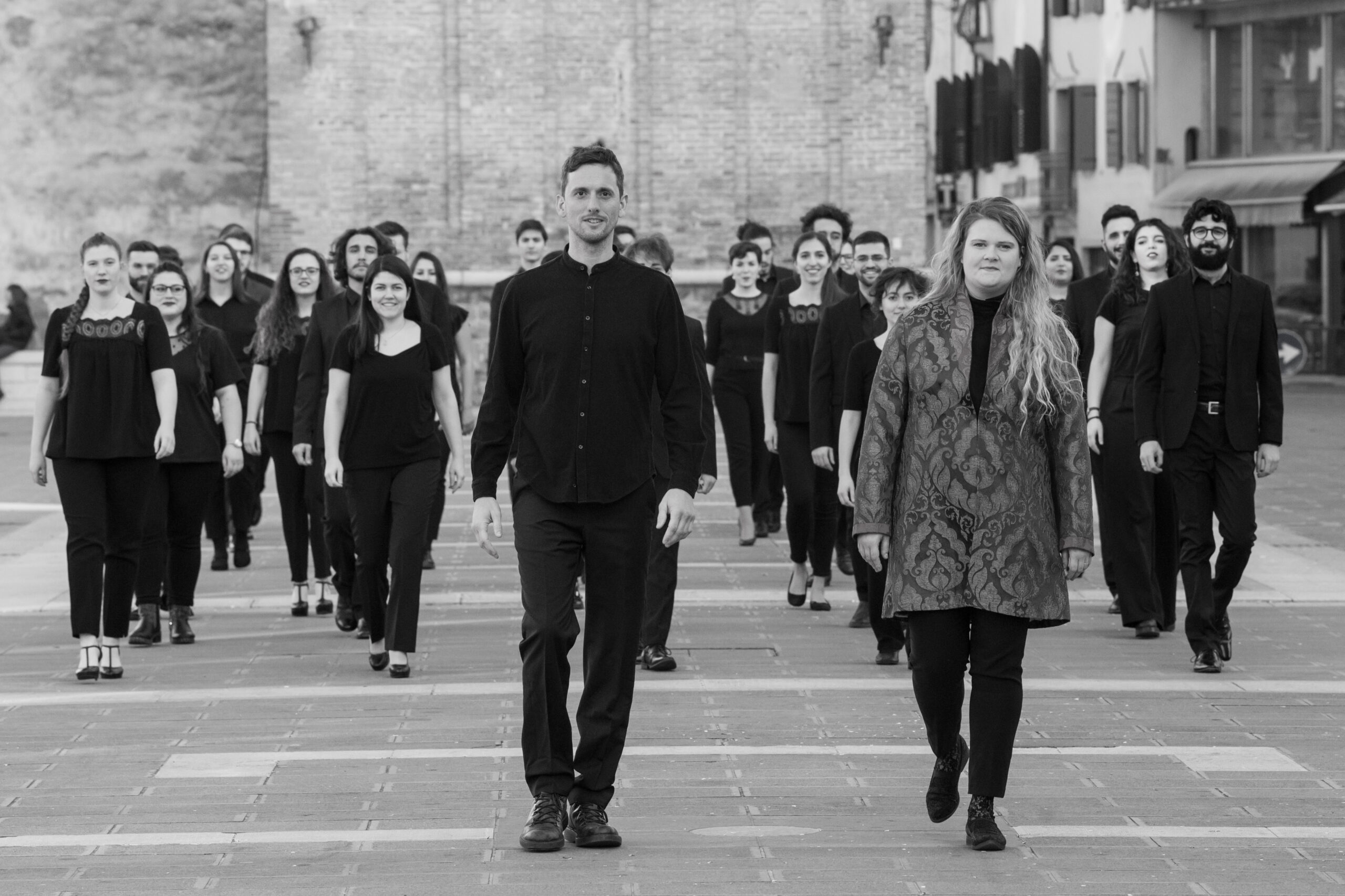 Francesca Daneluzzi, FENIARCO (Federazione Nazionale Italiana delle Associazioni Regionali Corali), Italy: Walking Together, 2020, Italian Youth Choir Coro Giovanile Italiano - The horizon is clear in front of us: let's walk and sing together. Our voices will sound with energy and fill your hearts.