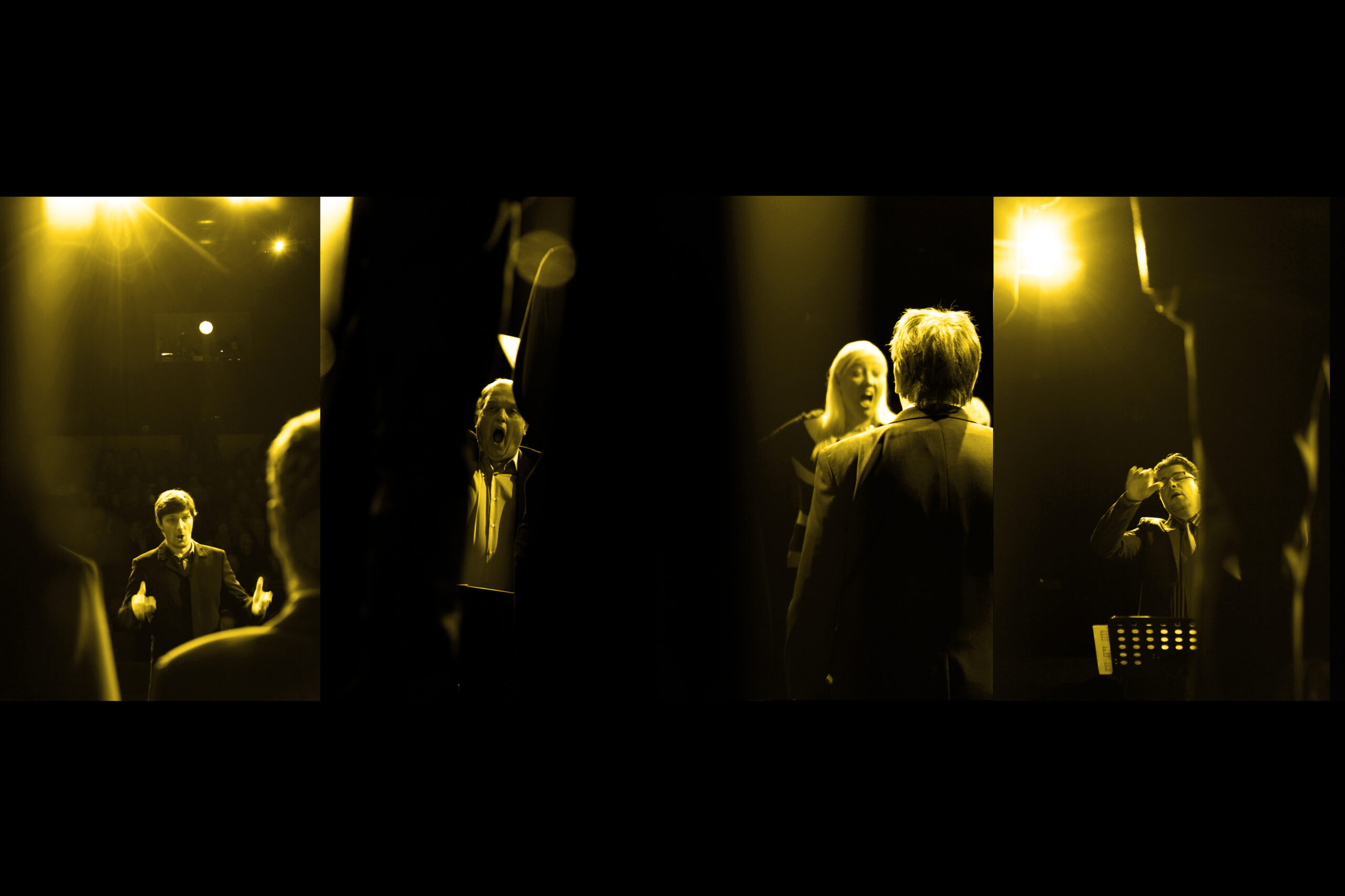 Jernej Skrt, Slovenia: Deep Yellow, 2019, Deskle Cultural Centre, Slovenia - Conductors Andrej Filipič, Miran Rustja, Katja Bajec Mihelj and Matej Petejan, all coming from Primorska, are directing their choirs at the Choral review of the Gorizia region, 2019.