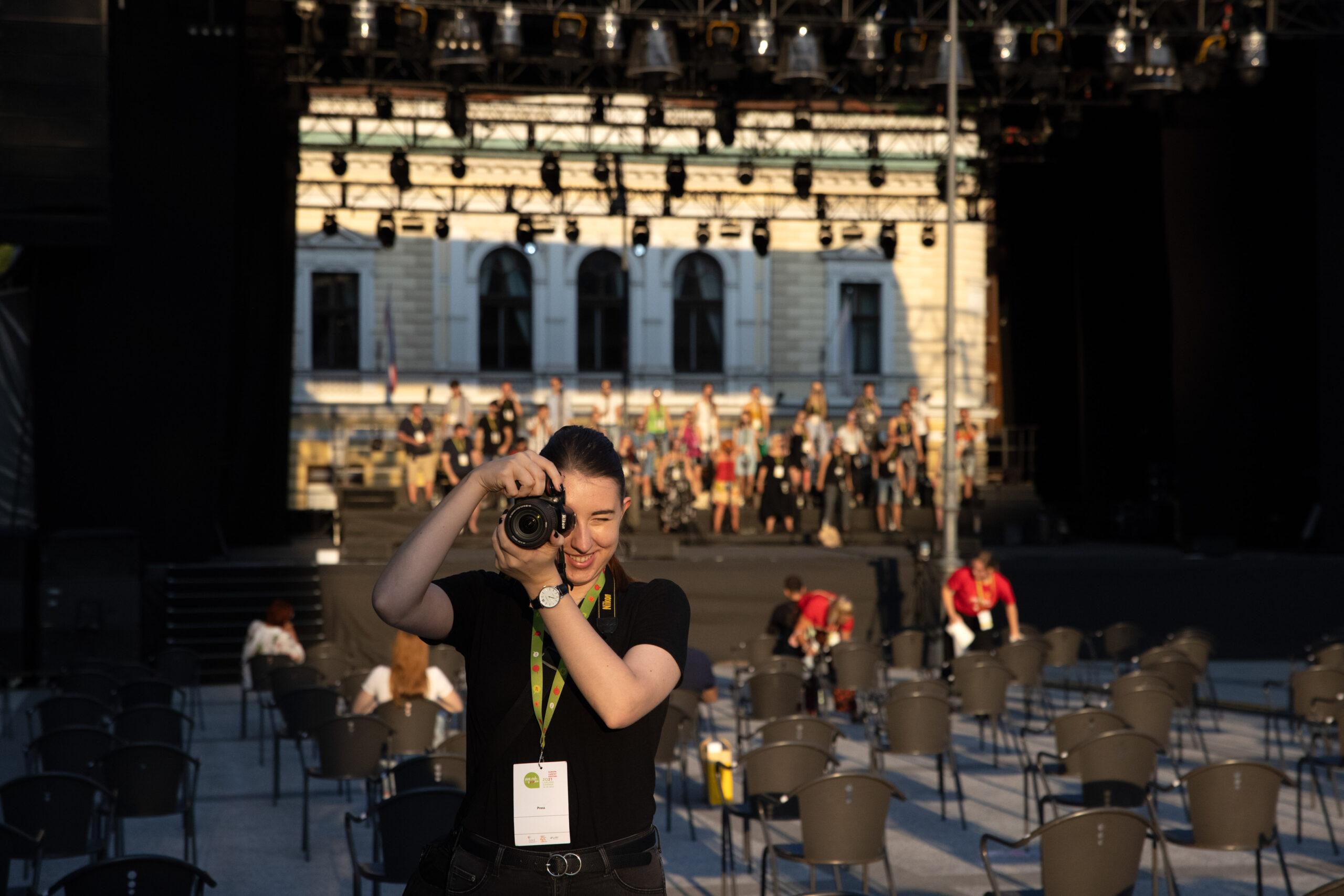 EC Ljubljana 2021, Perpetuum Jazzile; Photo: Tomaž Črnej