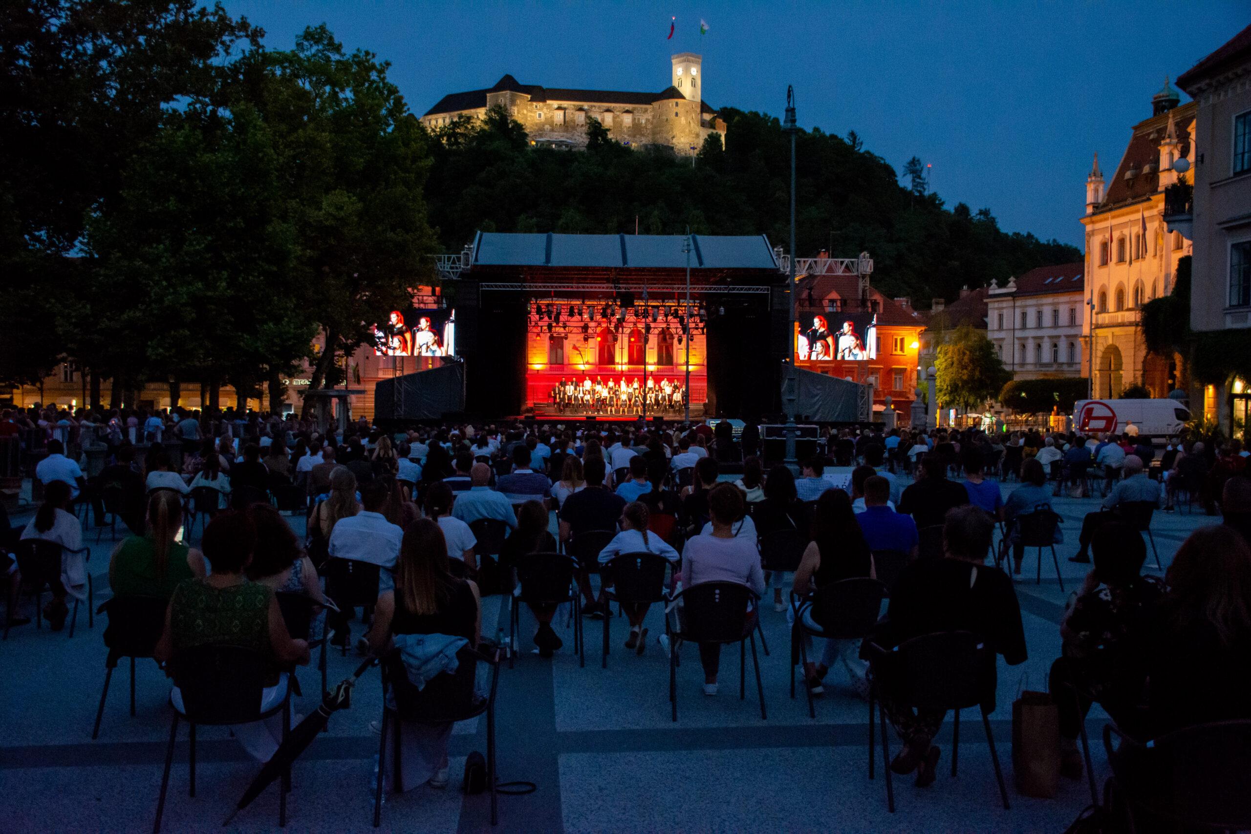 EC Ljubljana 2021, Perpetuum Jazzile; Photo: Tamara Domjanič