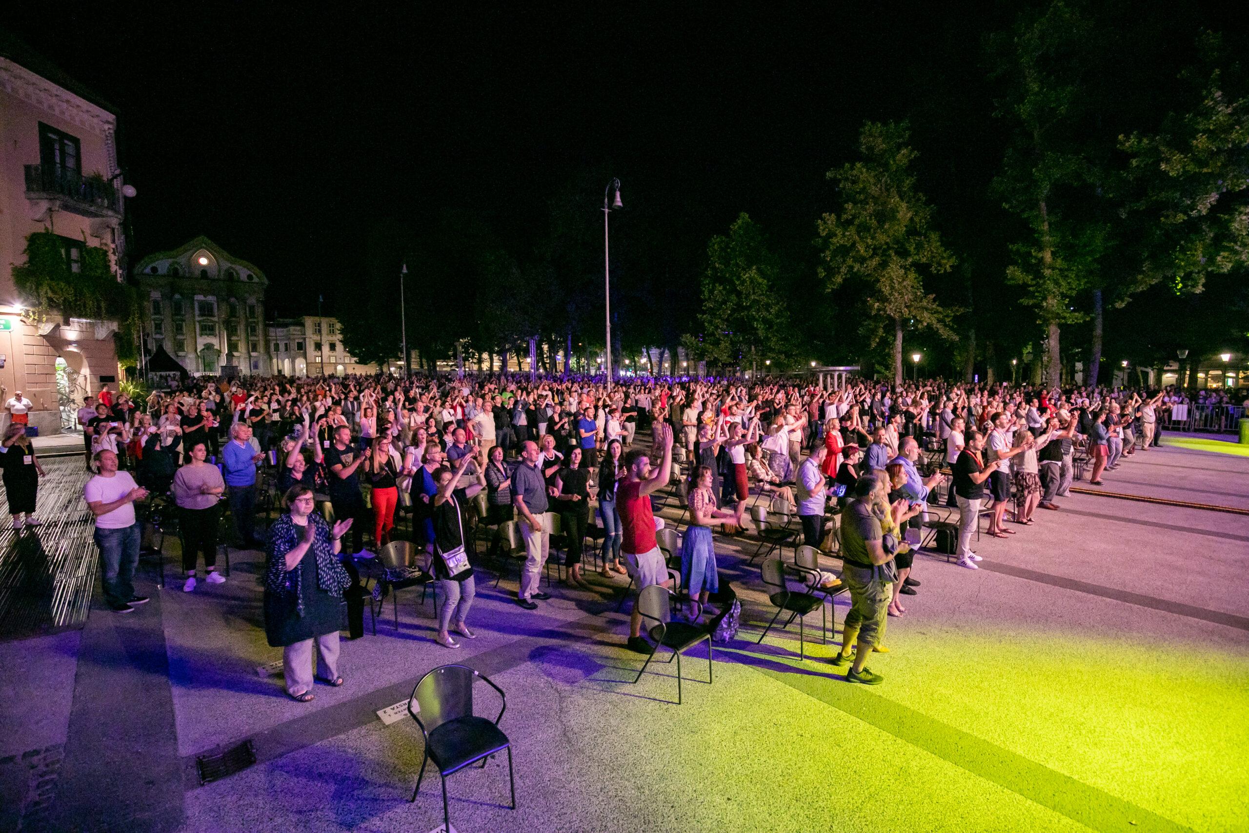 EC Ljubljana 2021, Perpetuum Jazzile; Photo: Rok Majhenič