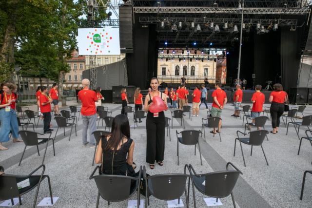 EC Ljubljana 2021, Finale with Ringmasters; Photo: Tomaž Črnej