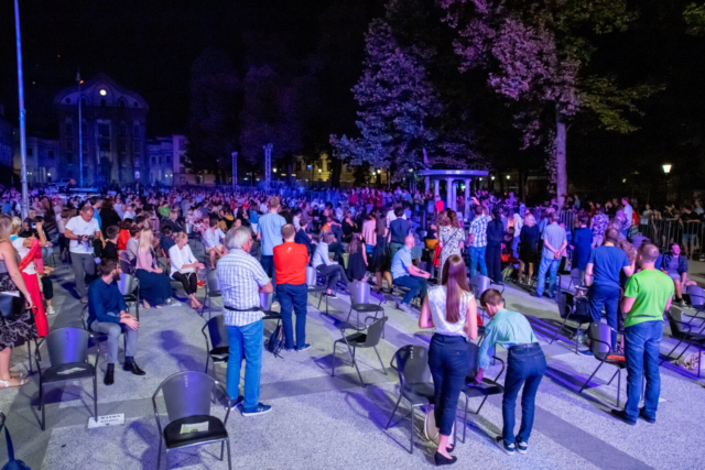 EC Ljubljana 2021, Finale with Ringmasters; Photo: Janez Eržen