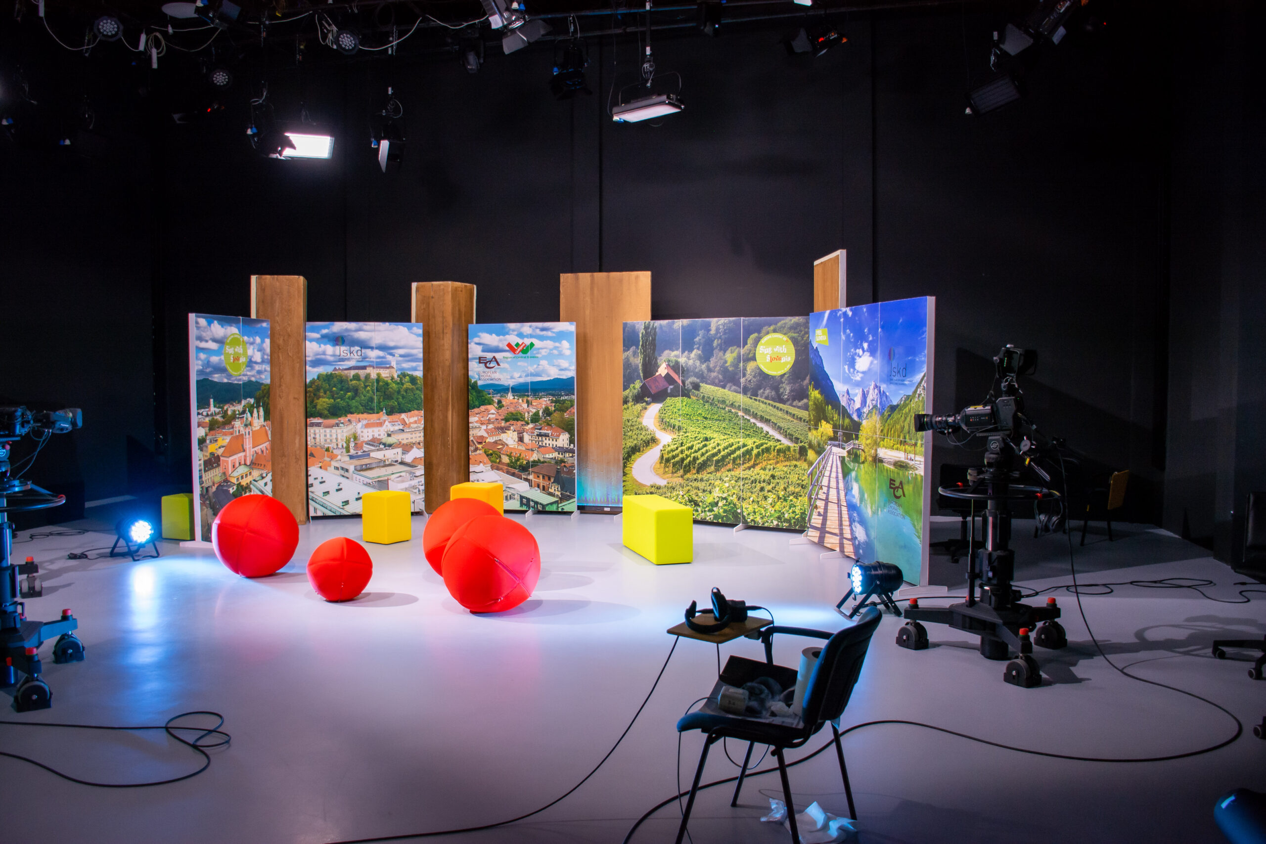Europa Cantat 2021, EC TV; Photo: Tamara Domjanič