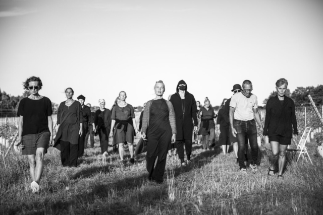 Tina Axelsson, Sweden: Long Time – You'll See, 2019–2028, Långmyre, Gotland Sweden, Year No. 2 – 2020 - Long Time – You'll See (Tiden går/Tempo scorre) is a sonic performance by Katarina Henryson and an artwork joining performance, vocal improvisation, and participatory art that addresses long-term orientation, presence, and communication and connection without the use of words.
