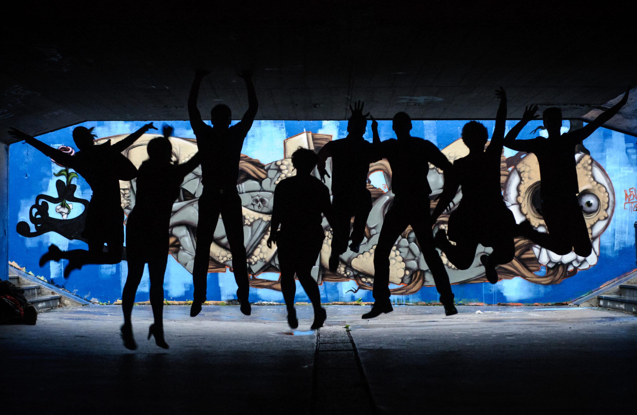 Jure Matoz, Slovenia: Live Graffiti, Jazzva, Slovenia - Ljubljana's urban culture is an inspiration and a playground for the Jazzva vocal group.