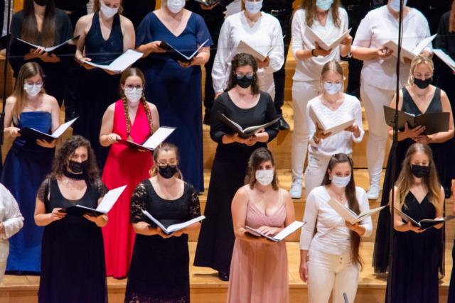 Nacionalni mladinski zbori/ National Youth Choirs; Photo: Tamara Domjanič