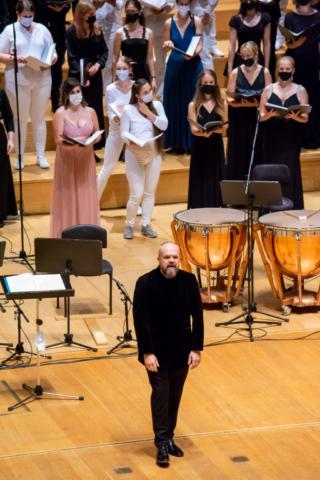 Nacionalni mladinski zbori / National Youth Choirs; Photo: Tamara Domjanič